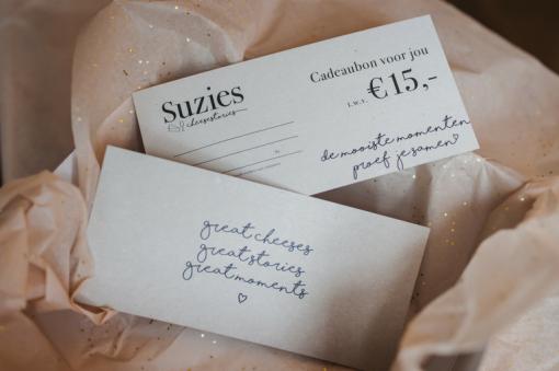 Suzies Cadeaubon EUR 15,-