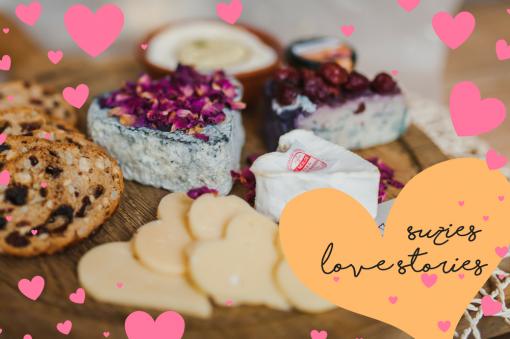 Suzies Love Stories Valentine Cheesebox